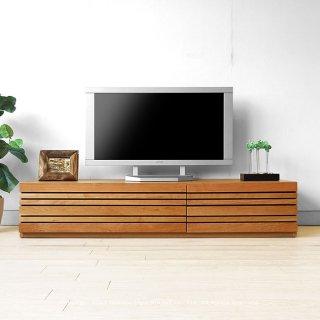 テレビ台 和モダンテイストなテレビボード 幅150cm 180cm 210cm 240cm ブラックチェリー材 REGATO-TV150