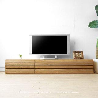 テレビ台 テレビボード 受注生産商品 幅150cm 180cm 210cm 240cm ホワイトオーク材 ホワイトオーク無垢材 木製 REGATO-TV180