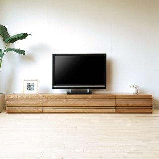 テレビ台 テレビボード 受注生産商品 幅150cm 180cm 210cm 240cm ホワイトオーク材 ホワイトオーク無垢材 木製 REGATO-TV240