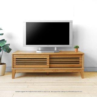 テレビ台 格子扉 引き戸 和モダンテイストのテレビボード幅120cm 160cmの2サイズ アルダー材