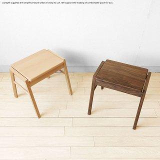 2個まで送料一律 ビーチ無垢材 ウォールナット無垢材 板座 木製椅子 スタッキングスツール ※素材によって金額が変わります!