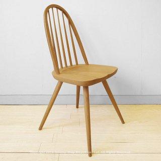 【受注生産商品】ナラ材 ナラ無垢材 ナラ天然木 木座 木製椅子 ナチュラルテイスト ウィンザーチェア ダイニングチェア CAMPUS-CH-NA