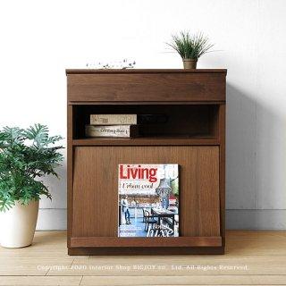 マガジンラック 本棚 ディスプレイラック 幅60cm ウォールナット材 ウォールナット無垢材 ダイニング用のテレビボードとしても使用できる