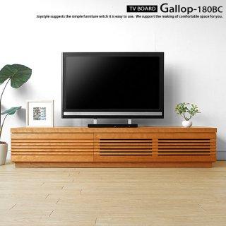 テレビ台 格子扉のかっこいいテレビボード オイル仕上げ 受注生産商品 別注対応可 幅180cm ブラックチェリー材 ブラックチェリー無垢材 高級感が魅力的 木製 GALLOP-180BC
