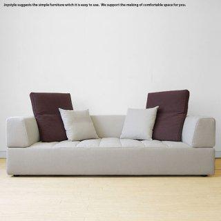 3Pソファー 3人掛けソファー 受注生産商品 開梱設置配送 幅187cm 210cmの2サイズ キルティング加工 フルカバーリングソファー