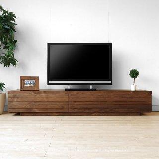 テレビ台 テレビボード ローボード 幅200cm 受注生産 開梱設置 ウォールナット材 ウォールナット無垢材 オイル仕上げ モダンデザイン 180cm 160cm 120cm