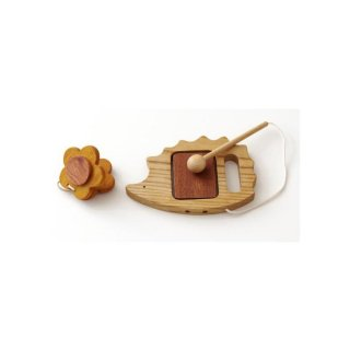 森のささやき マイファーストパーカッション たいこ カスタネット 楽器 木製 玩具 ベビートイ 木のおもちゃ 知育玩具 男の子 女の子 出産祝い お誕生日プレゼント エド・インター おもちゃ