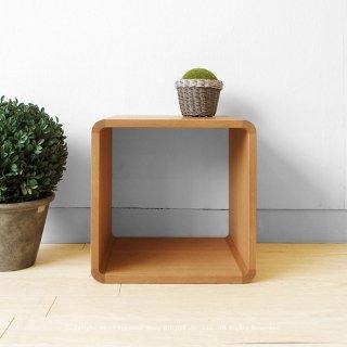 収納ブロック シェルフ オープンラック 飾り棚 Aタイプ ナラ材 ブロックを積み重ねるように組み合わせ
