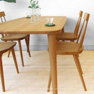 ダイニングテーブル ダイニングテーブル 角丸テーブル 食卓 オーダーテーブル 受注生産商品 開梱設置配送 ナラ無垢材 ナラ材 サイズオーダー 80〜200cm 北欧