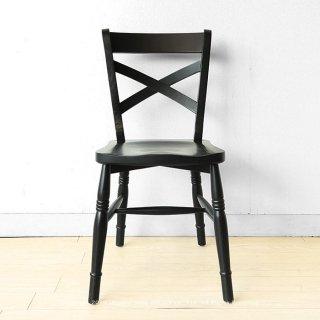 ダイニングチェア カフェチェア カフェ風 オーク材 オーク無垢材 木製 板座 椅子 ブラック色 グレー色 モダンテイスト モノトーン