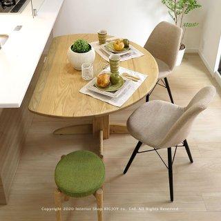 ダイニングテーブル 半円テーブル 受注生産商品 開梱設置配送 タモ無垢材 国産 日本製 幅120cm カウンターテーブル