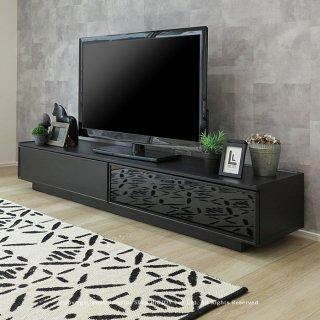 テレビ台 テレビボード ローボード 幅180cm 開梱設置配送 ブラック グレー モノトーン クールモダン 高さ30cmのローボード