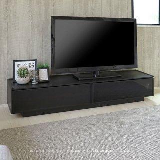 テレビ台 テレビボード ローボード 幅150cm 開梱設置配送 ブラック グレー モノトーン クールモダン 高さ30cmのローボード