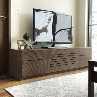テレビ台 テレビボード 幅172cm 開梱設置配送 オーク材 スリット 86シリーズ ハチロクシリーズ ウォールナット突板 ウォールナット色