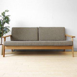3人掛けソファ 3Pソファ カバーリングソファ 国産ソファ 木製ソファ 開梱設置配送 JOYSTYLE限定 幅180cm ナラ材 ナラ無垢材 木製 背格子が魅力的なデザイン SALA-3P