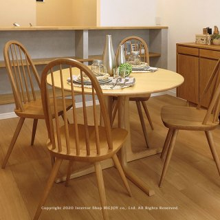ダイニングテーブル 円形ダイニングテーブル 丸テーブル 食卓 開梱設置配送 レッドオーク無垢材 ウォールナット材 幅105cm