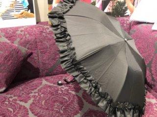 折りたたみ傘 ブラック