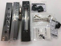 HINAKA  玄関引戸錠 GA-900DX ブロンズ色 ディンプルキー5本付き