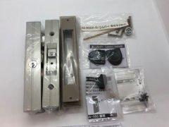 HINAKA  玄関引戸錠 GA-900DX シルバー色 ディンプルキー5本付き