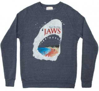 <img class='new_mark_img1' src='https://img.shop-pro.jp/img/new/icons14.gif' style='border:none;display:inline;margin:0px;padding:0px;width:auto;' />Peter Benchley / Jaws Sweatshirt (Navy)