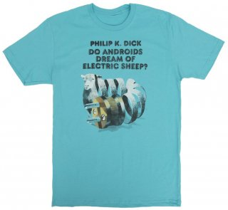 Philip K. Dick / Do Androids Dream of Electric Sheep? Tee (Tahiti Blue)