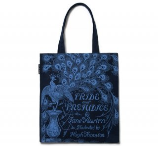 Jane Austen / Pride and Prejudice Tote Bag (Navy)