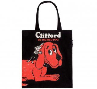 Norman Bridwell / Clifford the Big Red Dog Tote Bag