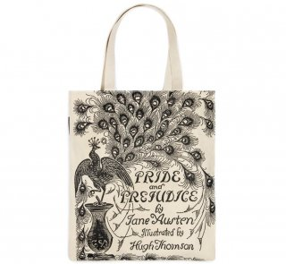 Jane Austen / Pride and Prejudice Tote Bag