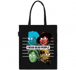 Book Riot / I READ DEAD PEOPLE Tote Bag
