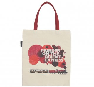 Agatha Christie / Murder on the Orient Express Tote Bag