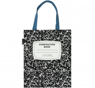 Composition Book Tote Bag