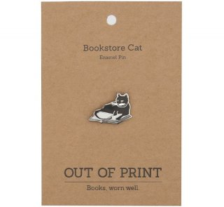 Bookstores. Cats. Life is Sweet. Enamel Pin