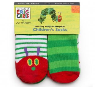 Eric Carle / The Very Hungry Caterpillar Toddler Socks (4-Pack)