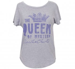 Agatha Christie [The Queen of Mystery] Dolman Tee (Heather Grey) (Womens)
