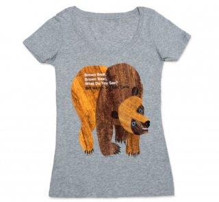 Bill Martin, Jr. and Eric Carle / Brown Bear, Brown Bear, What Do You See? Tee (Womens)