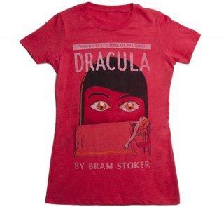 Bram Stoker / Dracula Tee (Red) (Womens)