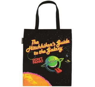 Douglas Adams / The Hitchhiker's Guide to the Galaxy Tote Bag<img class='new_mark_img2' src='https://img.shop-pro.jp/img/new/icons56.gif' style='border:none;display:inline;margin:0px;padding:0px;width:auto;' />