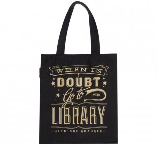 Hermione Granger / When in doubt, go to the library Tote Bag<img class='new_mark_img2' src='https://img.shop-pro.jp/img/new/icons56.gif' style='border:none;display:inline;margin:0px;padding:0px;width:auto;' />