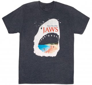 Peter Benchley / Jaws Tee (Vintage Navy)