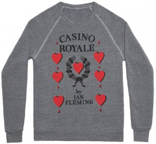Ian Fleming / Casino Royale Sweatshirt (Grey)