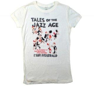 F. Scott Fitzgerald / Tales of the Jazz Age Tee (Ivory) (Womens)