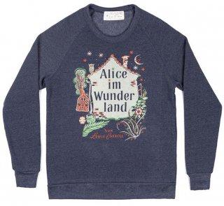Lewis Carroll / Alice im Wunderland Sweatshirt (Navy)