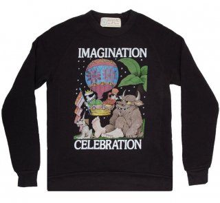 Maurice Sendak / IMAGINATION CELEBRATION Sweatshirt (Black)