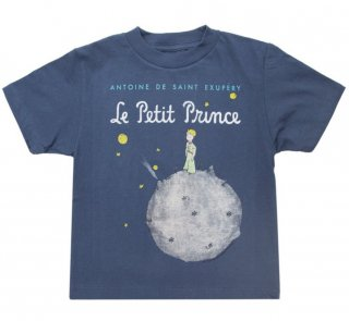 Saint-Exupéry / Le Petit Prince Tee (Light Navy) (Kids')