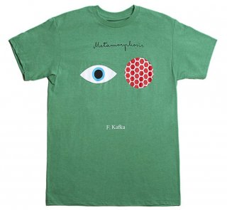 Franz Kafka / The Metamorphosis Tee (Heather Kelly Green)