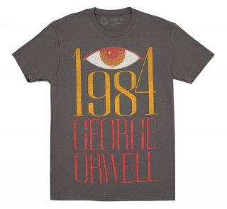 George Orwell / 1984 Tee (Heavy Metal)