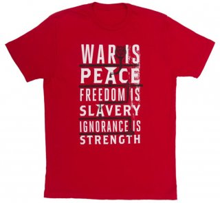 George Orwell / 1984 Tee (Red)