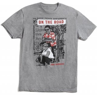 Jack Kerouac / On The Road Tee (Grey)