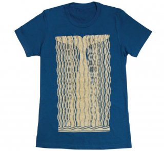 Herman Melville / Moby-Dick Tee [Gilded] (Cool Blue) (Womens)