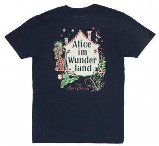 Lewis Carroll / Alice im Wunderland Tee (Midnight Navy)